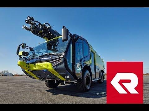 The new PANTHER - Rosenbauer ARFF vehicle