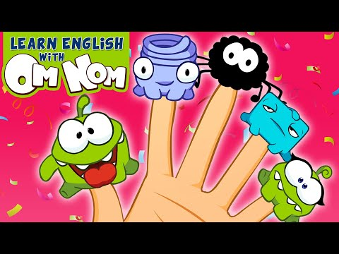 The Om Nom Finger Family Song   Nursery Rhymes and 3D Baby Songs for Children by Om Nom!