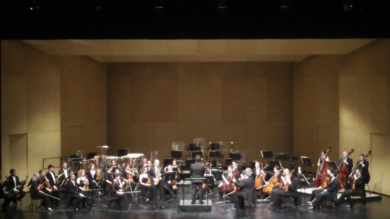 A. Glazunov (cadence Ch. Lauba) - David Alonso con Orquesta de Extremadura