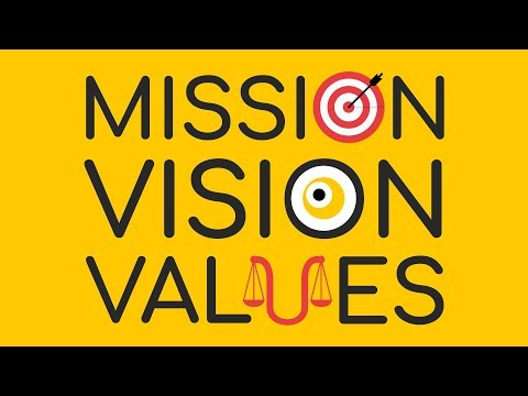 The Mission, Vision, And Values Statements