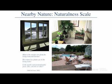 Lecture 15 - Natural Environments and Restorative Settings