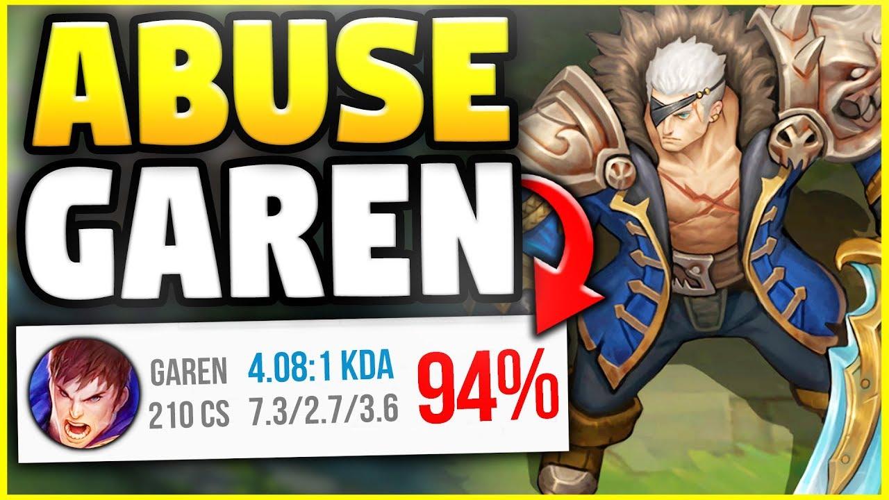 how to play garen season 8