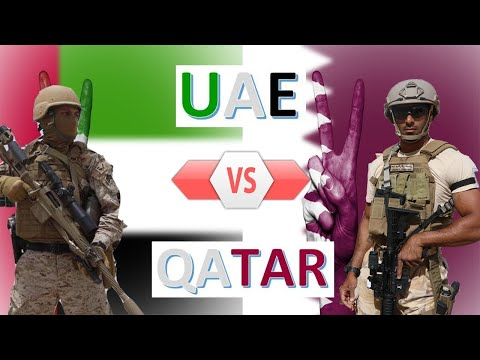UAE vs Qatar Military Power & Economic Comparison 2020