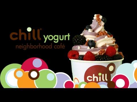 США. Самообслуживание в йогурт-кафе
