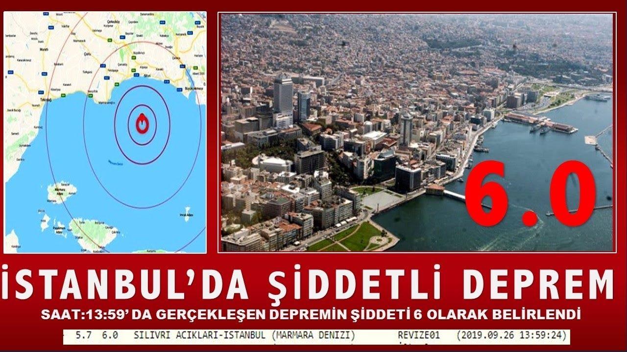 istanbul deprem son dakika 2019 - 5.8 (izmir'de telefon çekmiyor)