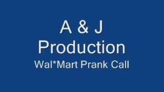 Download Wal Mart Prank Call MP3 song and Music Video