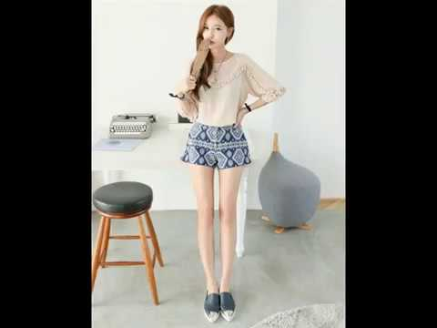 Gaya Fashion Wanita Korea Style Casual Terbaru 2017 Youtube