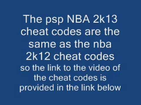 Nba 2k13 Psp Cheat Codes