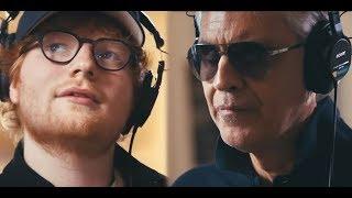 Andrea Bocelli INTERVIEW - Featured Ed Sheeran PERFECT New Single