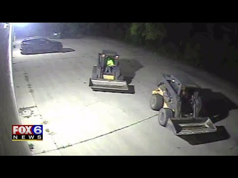 Police Use GPS To Find Stolen Milwaukee Construction Equipment In Walworth County