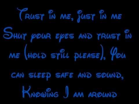 Trust In Me - The Jungle Book Lyrics HD