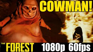 Cowman! - The Forest - Yolo Letsplay - Part 20