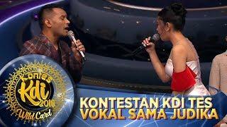 Download lagu Deg Degan Kontestan KDI Tes Vokal Langsung Sama Judika WildCard KDI
