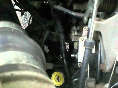 how to prime fuel system on cummins 59 - YouTube