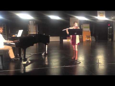Mary Grekstas TCU Music Audition