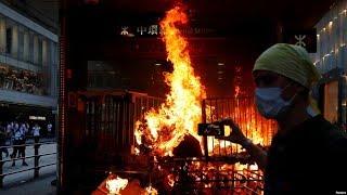 """9/10【香港风云 特别报道】""""我为什么支持香港社会运动?""""一位新移民的看法"""