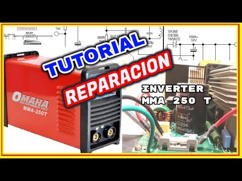 Soldadora Inverter Omaha MMA 250T no funciona (Solucionado)