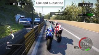 I Motogp Race in F1 Circuit Macau | Motogp17 Games