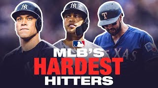 MLB's Hardest Hitters of 2018