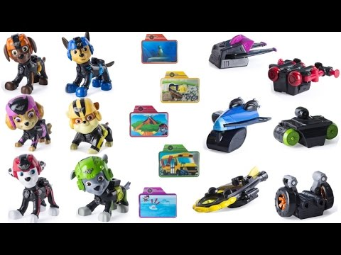 Thumbnail: Best Learning Colors Video for Children - Match Paw Patrol Mission Pup Packs & Cards