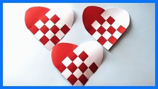 Simple & Easy Paper Heart Shapes Idea | DIY Paper Crafts