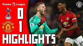 Highlights  Tottenham 0-1 Manchester United  De Gea amp Rashford shine at Wembley  Premier League