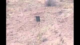 Bullet Trace Visible 5.56 Rifle Shoot at 393 yards