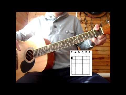 Кравц - Я думал. Разбор песни на гитаре.