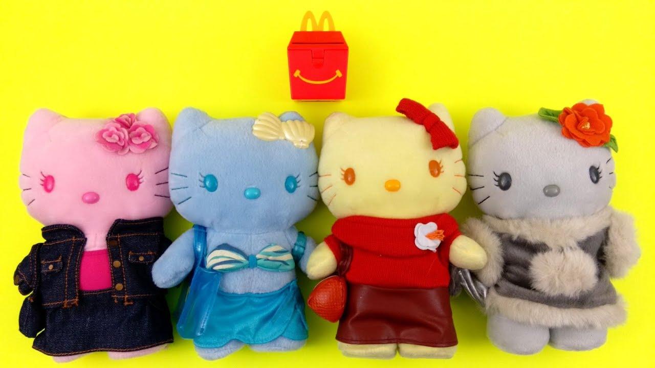 Hello Kitty Mcdonald S Toys : Rare hello kitty colorful seasons mcdonald s full set of happy