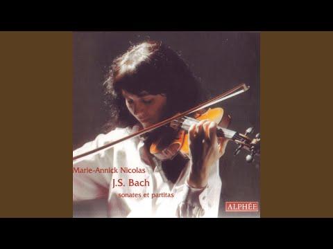 Partita 1 h-moll BWV 1002 - V. Sarabande