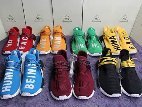 finest selection de76d 20121 adidas nmd human race colors
