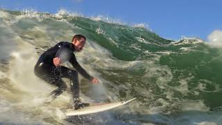 The Wedge Gets Glassy | Slow Motion | 1 day at The Wedge | Watershots