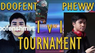 PHEWW VS DOOFENT Z4PNU 1V1 TOURNAMENT | Mobile Legends Philippines
