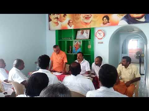 Shree Kesava Vinayagam Ji meet in Madurai BJP Office.