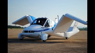 Test flight of world's first flying car