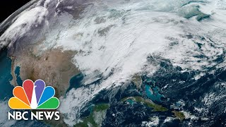 Live: Tracking Winter Storm In Northeast | NBC News