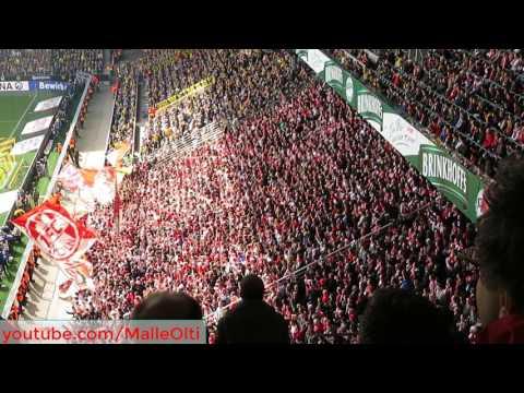 Borussia Dortmund - 1. FC Köln 29.04.2017 Stimmung Gästeblock Ultras Effzeh