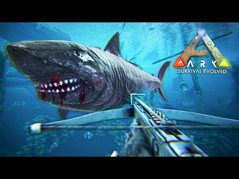 ARK: Survival Evolved - MEGALODON TAMING!! (ARK Ragnarok Gam