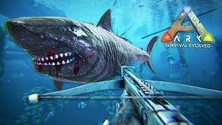 ARK: Survival Evolved - MEGALODON TAMING!! (ARK Ragnarok Gameplay)