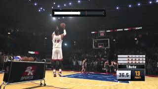 NBA 2K15 3 point contest world record