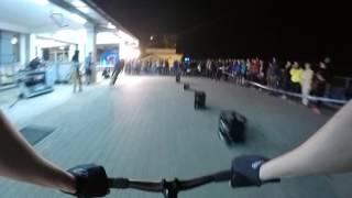 Fixie Garage bike race Prague - 8bar team - onboard cam