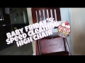 Baby Friday's : Speed cleaning Luna's  high chair