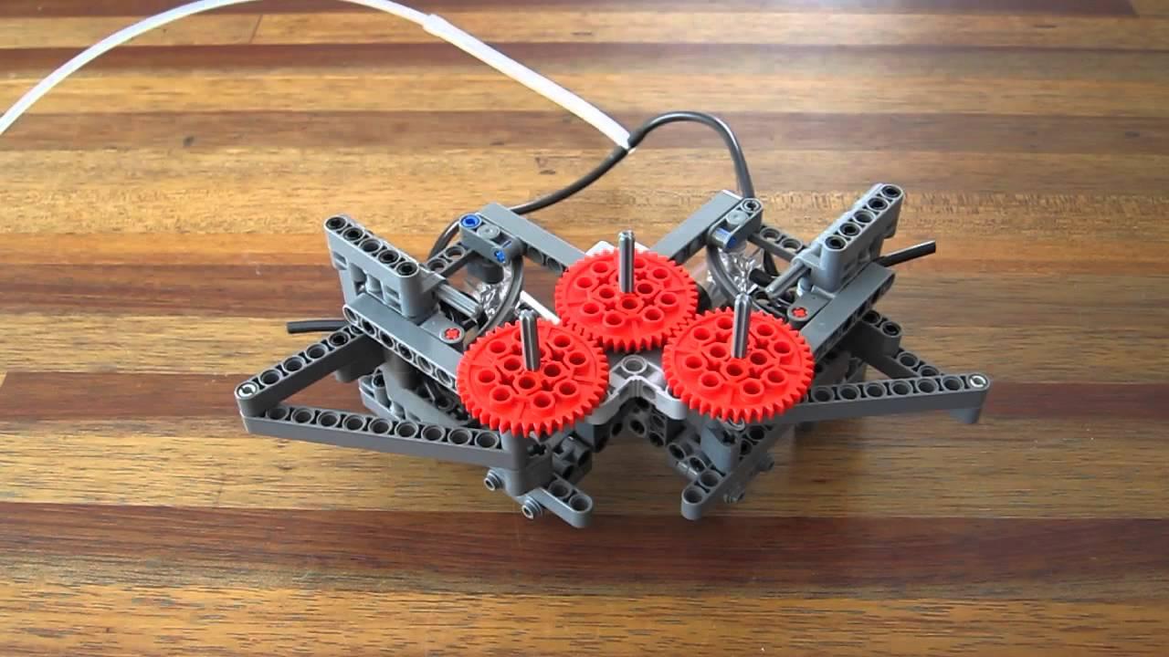 how to build a lego v8 pneumatic engine