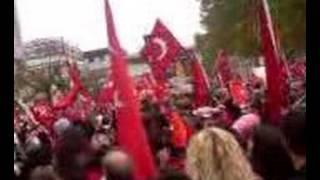 Pforzheim Yürüyüsü. PKK ya lanet 2