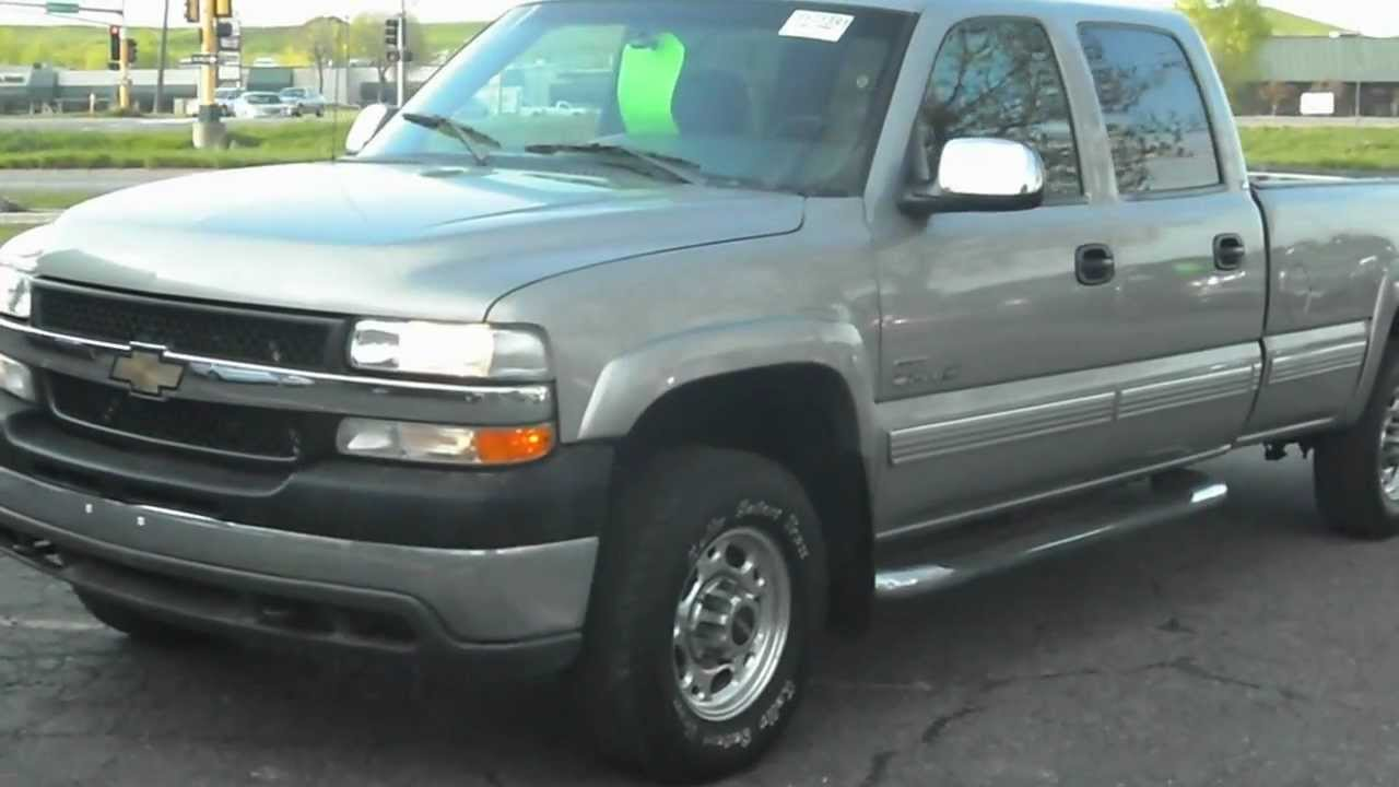 2002 chevrolet silverado 2500hd ls crew cab 4 door youtube. Black Bedroom Furniture Sets. Home Design Ideas
