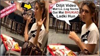 Kriti Sanon& 39 s CUTE Eating Plate Full Of FOOD While Promoting Arjun Patiala Movie