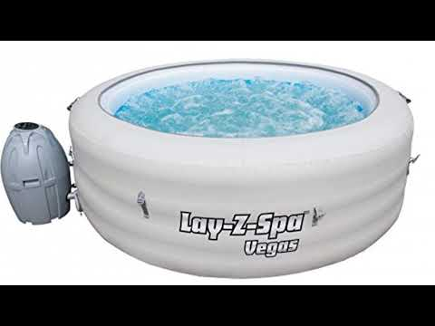 Lay Z Spa 54112 Bnnx16ab02 Vegas Hot Tub Airjet Inflatable Spa 4