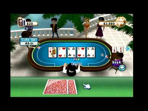 Texas Hold'em Poker (Wii) Online Multiplayer