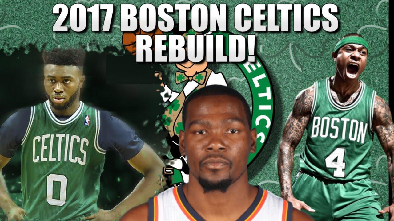 photograph regarding Boston Celtics Printable Schedule named Rebuilding the 2017 Boston Celtics - NBA 2K16 My League