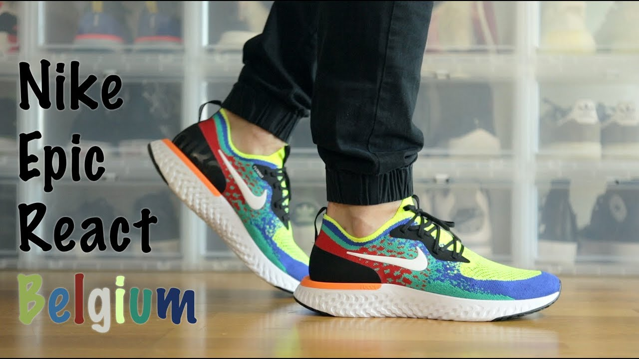 98a4f619d329 Nike Epic React Belgium Limited - Unboxing + Review + On Feet - Mr Stoltz  2018
